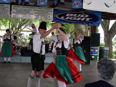 Brenham MaifestFriday-Sunday, May 1-3This will be the 125th celebration of spring and German culture at Fireman's Park in Brenham. In addition to traditional music and food, the free festival features a German Village with heritage exhibits and a Kinder Village filled with children's activities.When: 6 p.m.-midnight Friday, noon-midnight Saturday and 10 a.m.-4 p.m. SundayWhere: 901 N. Park in BrenhamInformation: maifest.org  Photo: Steve Westbrook