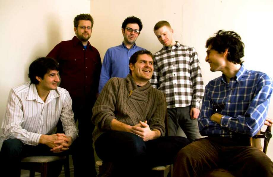 Sleeping Giant is a collective of young composers, including Jacob Cooper, Christopher Cerrone, Robert Honstein, Andrew Norman, Ted Hearne and Timothy Andres.
