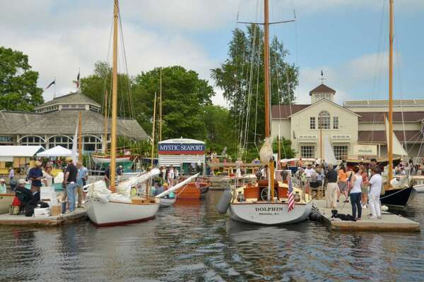 Mystic is for boat lovers    Traditional and classic wooden boats are displayed during the annual Wooden Boat Show.