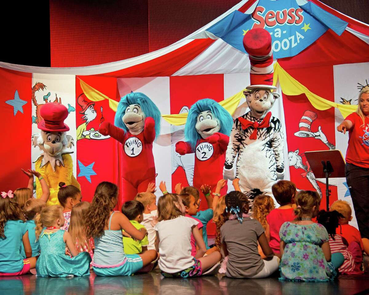 """Carnival Magic's """"Seuss-A-Palooza gets young cruise guests close to the book-themed fun."""