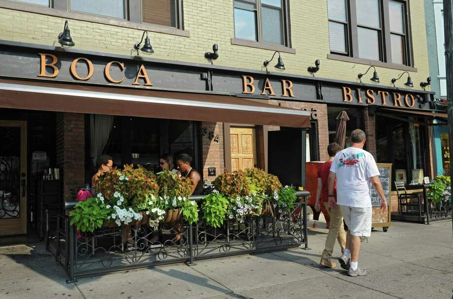 Boca Bistro on Broadway in Saratoga Springs, N.Y. (Lori Van Buren / Times Union) Photo: Lori Van Buren / 00027868A