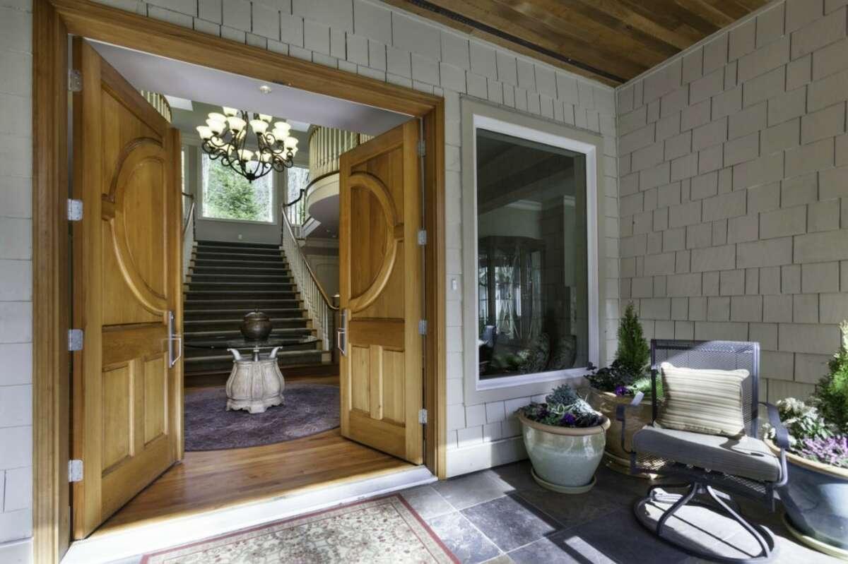 Front door entry.