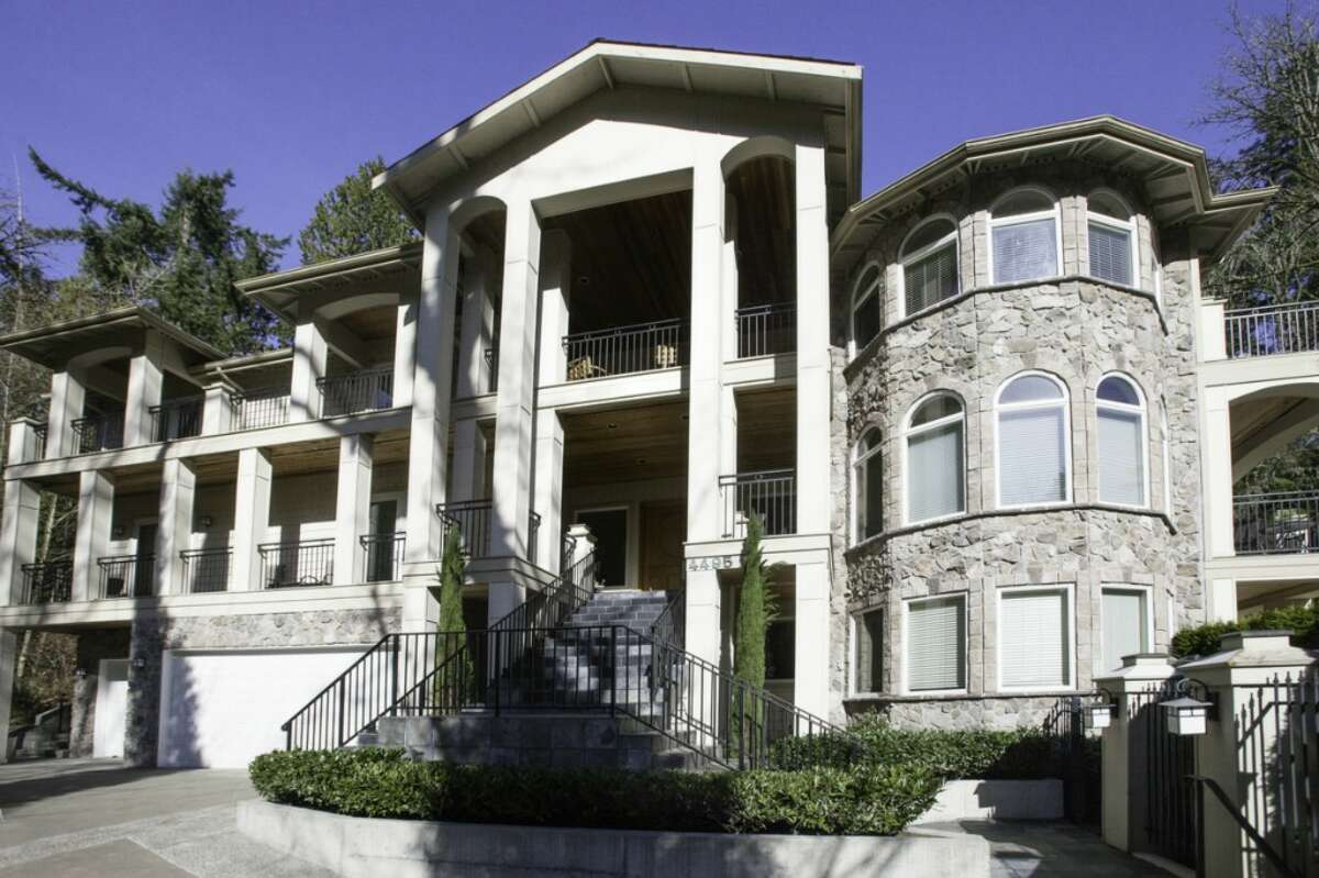 The home of NBA player Jason Terry has six bedrooms and five-and-a-half bathrooms. It includes a bonus room, theater room, an elevator servicing all three floors and an outdoor entertaining area. The home is listed for $2.4 million. See the full listing here.