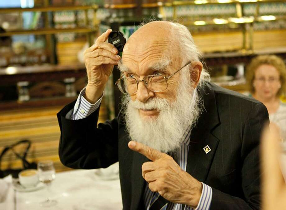 "Magician and debunker James Randi is the subject of the documentary ""An Honest Liar."" Photo: Handout, Washington Post"