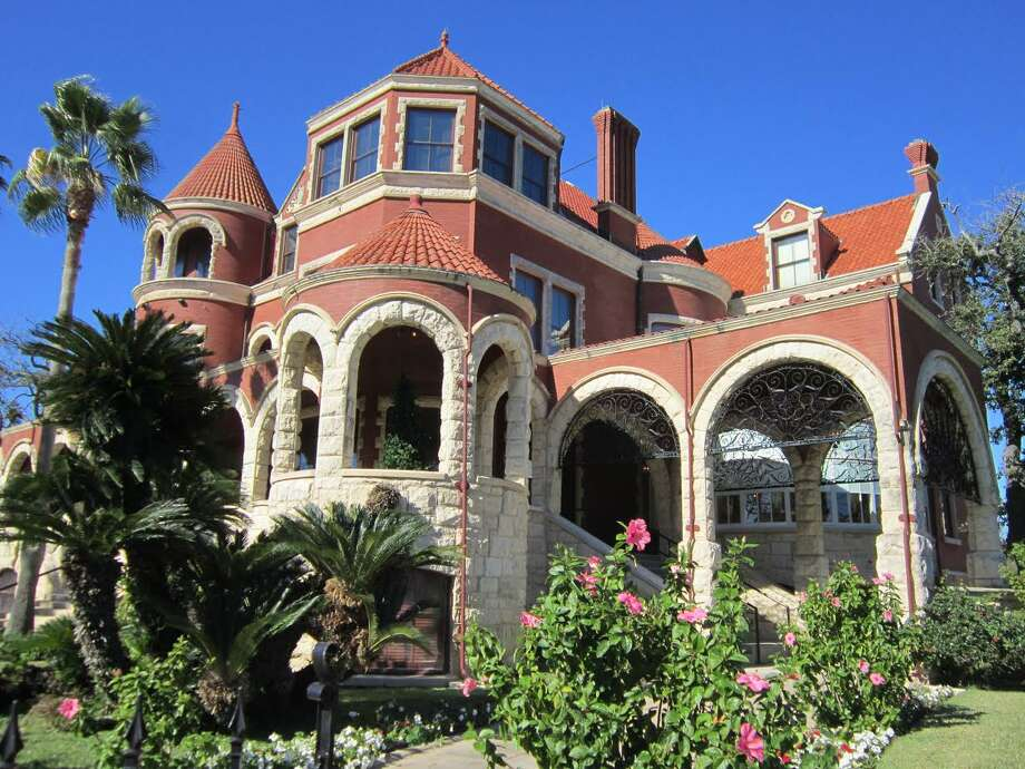 Galveston's historic Moody Mansion is open for tours that give visitors a look at the lifestyle of some of the island's well-heeled early residents. Photo: Michelle Newman / For The Express-News