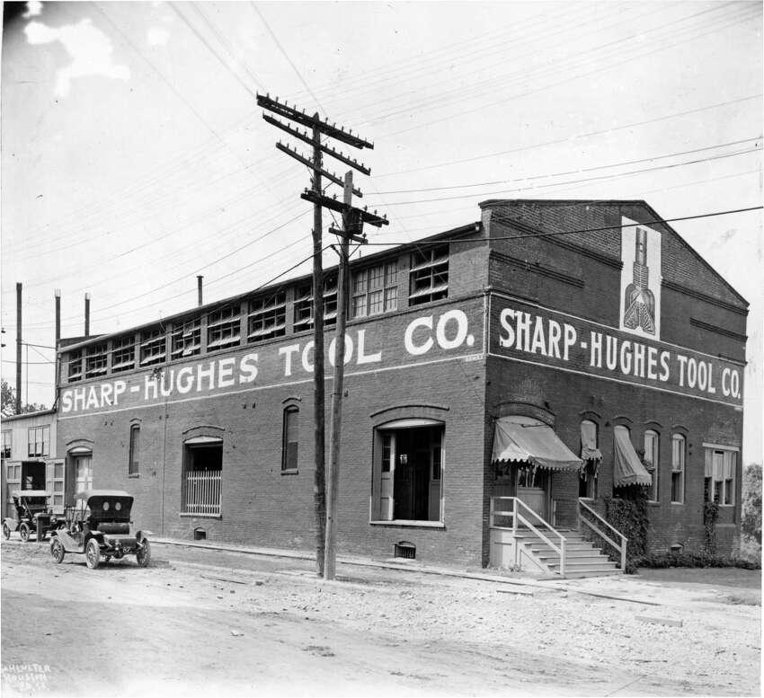 1913 - Hughes Tool Company started as a small building on Buffalo Bayou near Main Street
