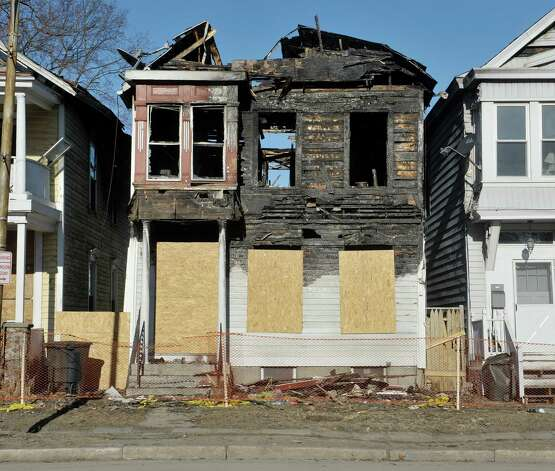A view of the home located at 809 Second Ave., seen here on Wednesday, March 18, 2015, in Troy, N.Y.  (Paul Buckowski / Times Union) Photo: PAUL BUCKOWSKI / 00031076A