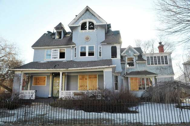 A view of the home located at  532 Third Ave., seen here on Wednesday, March 18, 2015, in Troy, N.Y.  (Paul Buckowski / Times Union) Photo: PAUL BUCKOWSKI / 00031076A