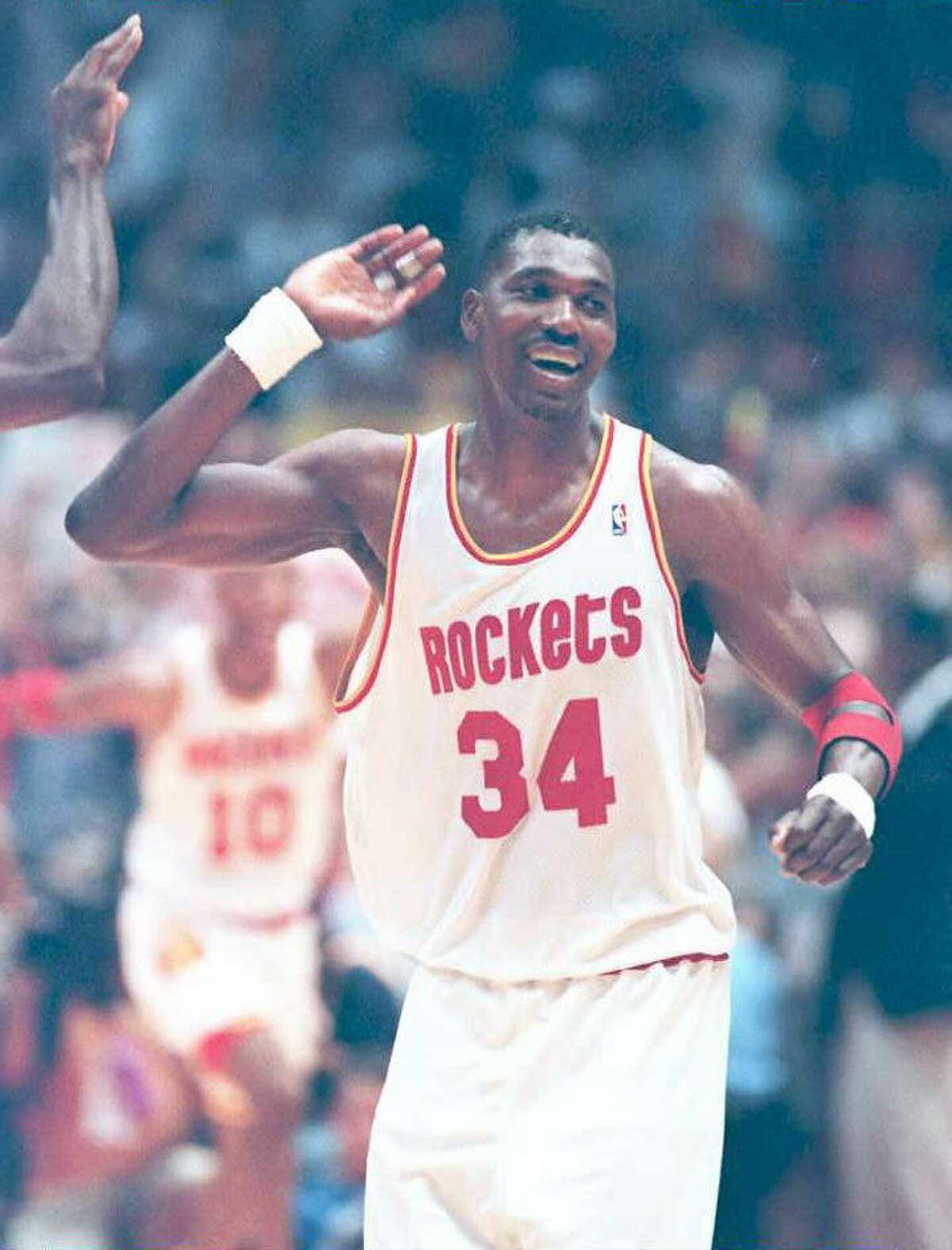 Hakeem Olajuwon, Rockets: Best NBA Player, 1995-96