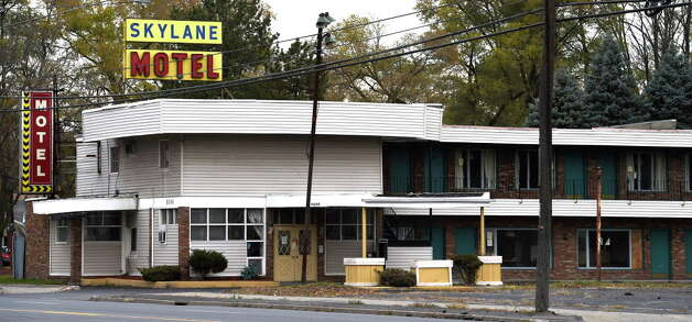 Exterior view of the Skylane Motel Thursday afternoon Nov. 13, 2014 in Colonie, N.Y.    (Skip Dickstein/Times Union archive) Photo: SKIP DICKSTEIN / 00029473A