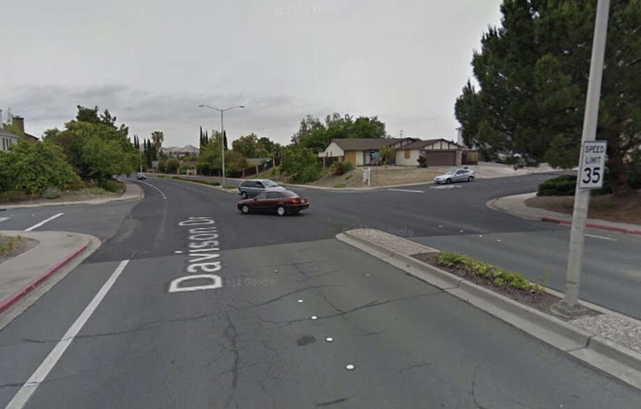 A car and a bus were involved in a fatal accident on Davison Drive and Burwood Way in Antioch. Photo: Google Maps