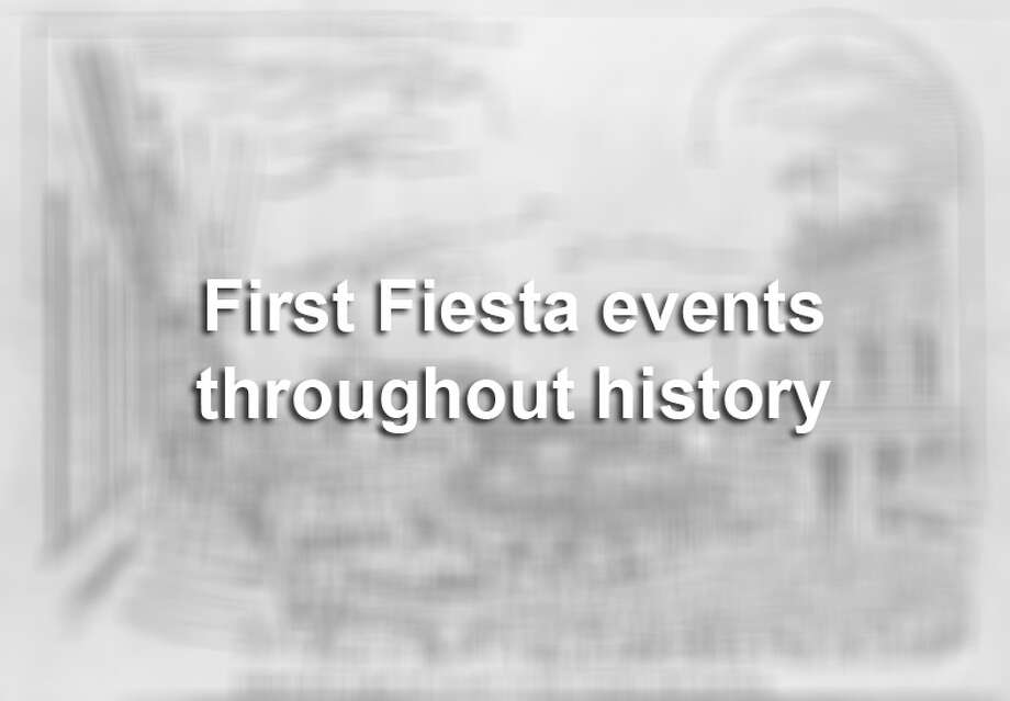 Throughout its 124-year history, Fiesta San Antonio has gained many events that make it the famous celebration it is today. Here are Fiesta's major events in their first year, from the Battle of Flowers Parade in 1891 to the Taste of New Orleans in 1986. Photo: File / UTSA Special Collections
