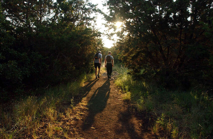 2. Commune (and confide) with nature on a hike through one of San Antonio's many scenic parks.