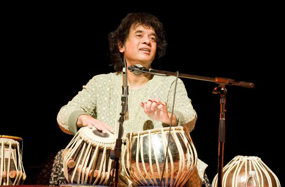 Zakir Hussain performs at SF Jazz Center. Photo: Moment Records