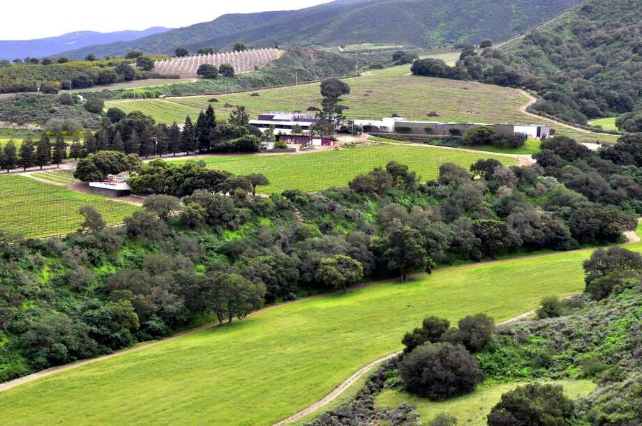 An overview of Hahn vineyards. The winery has employed various techniques to improve sustainability. Photo: Christine Delsol / Special To SFGate