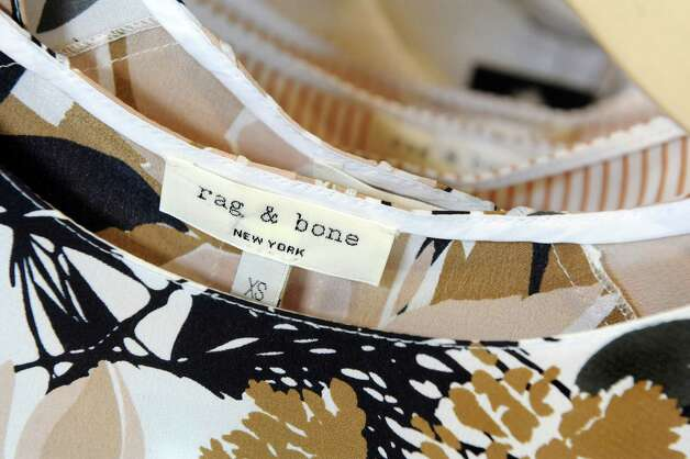 Rag & Bone, a high-end brand-name shirt, at Circles on Wednesday, March 11, 2015, at Stuyvesant Plaza in Albany, N.Y. (Cindy Schultz / Times Union) Photo: Cindy Schultz / 00030922A