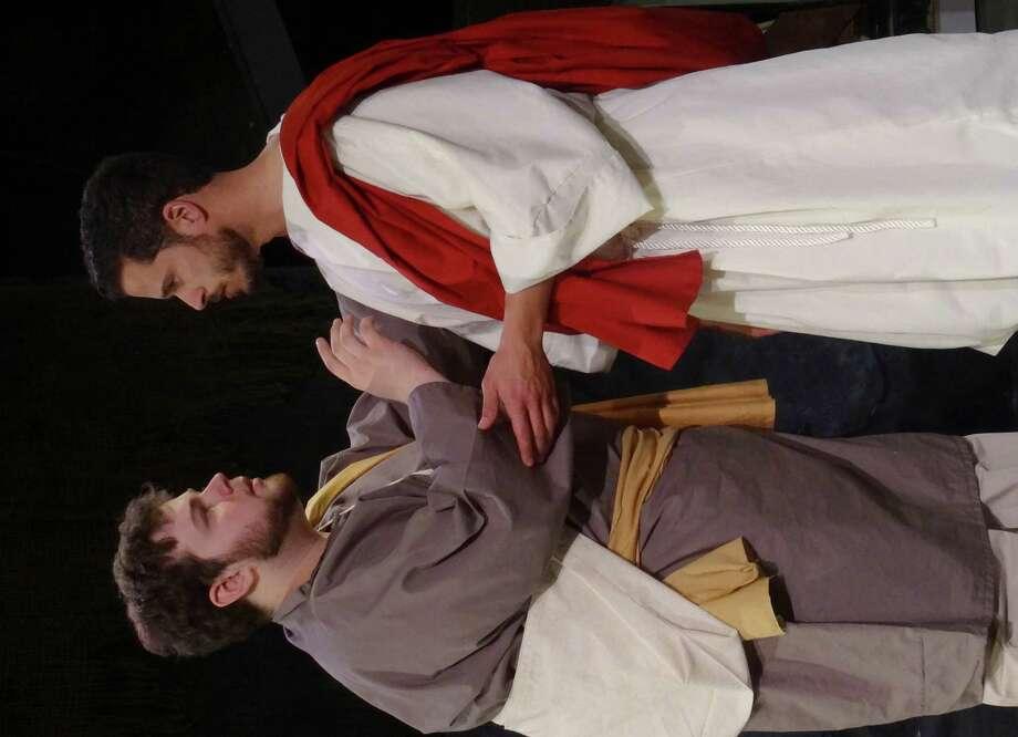 Joey Sanzaro Of Pleasantville, N.Y. (left) Is Playing Judas And Christian  Cardozo Of