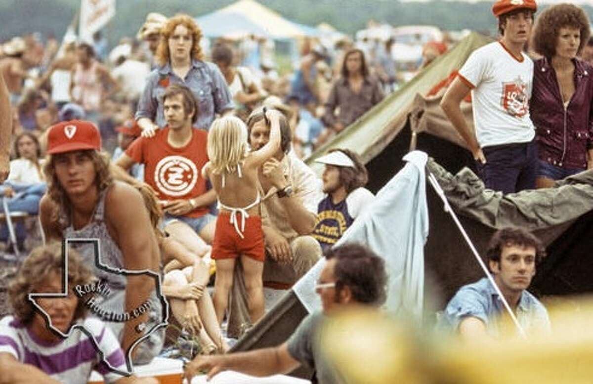 Photographer Bruce Kessler was at Willie Nelson's 4th of July Picnic in 1974, held at the Texas World Speedway. He captured photos of the fans and the musical acts that performed over the three-day festival. The speedway will soon be closed to make way for new development on the site.