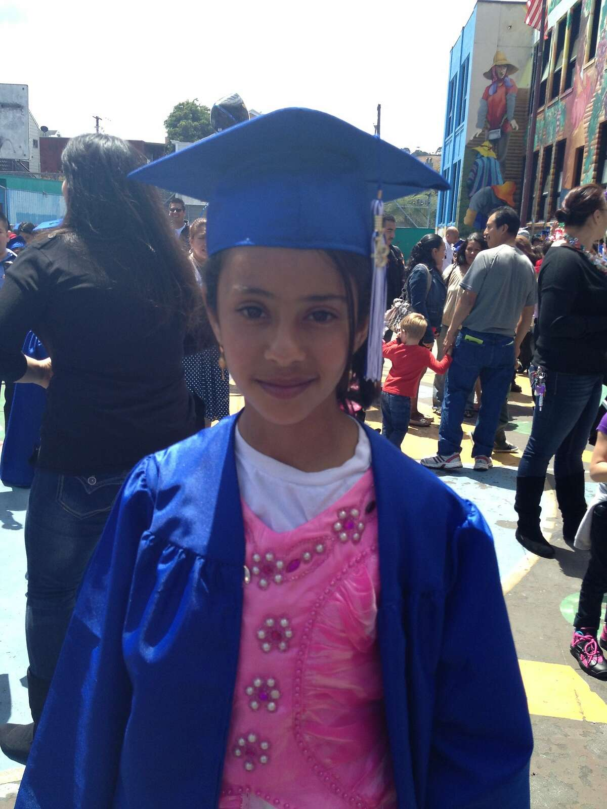 Amal Shaibi, 13, died at San Francisco General Hospital Wednesday from injuries sustained in a March 11 fire at her home in San Francisco's Mission District. A family friend described her as an intelligent, sweet and kind girl.