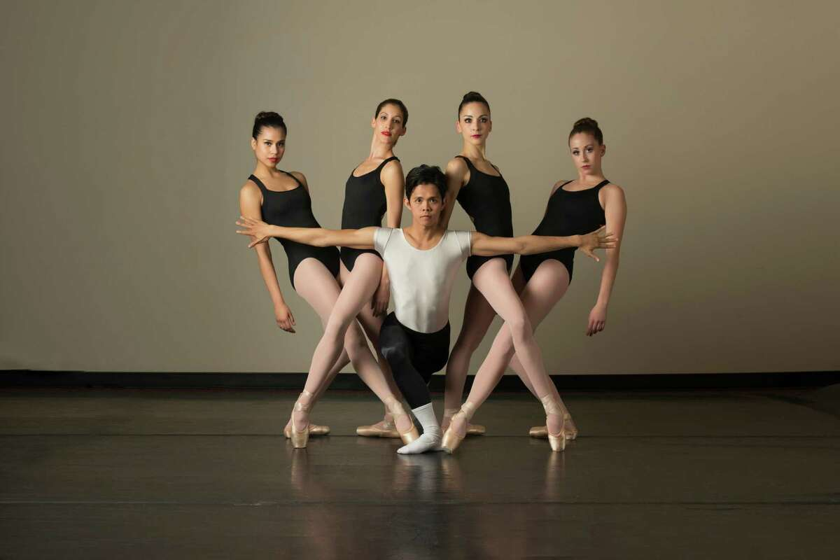 Lydia Relle, Crystal Serrano, Jayson Pescasio, Rania Charalambidou and Yanaylet Lopez will perform in Ballet San Antonio's program of works by George Balanchine and Gabriel Zertuche.