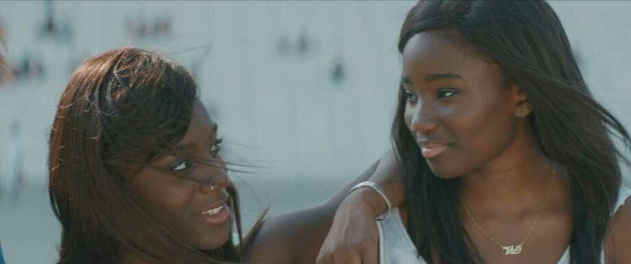"Assa Sylla (left) and Karidja Toure star in Celine Sciamma's latest on girls growing up, ""Girlhood."" Photo: Strand Releasing / Strand Releasing / ONLINE_YES"