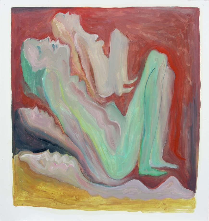 "Ruby Neri's ""Untitled"" (2014), oil on paper, is part of ""The Big Feel."" Photo: Gallery Paule Anglim / ONLINE_YES"