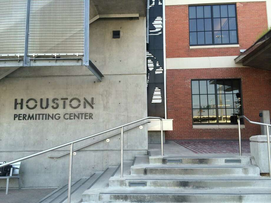 The Houston Permitting Center at 1002  Washington Ave. combines the majority of the city of Houston's permitting and licensing into one  location. Photo: Nancy Sarnoff, HC Staff / Houston Chronicle