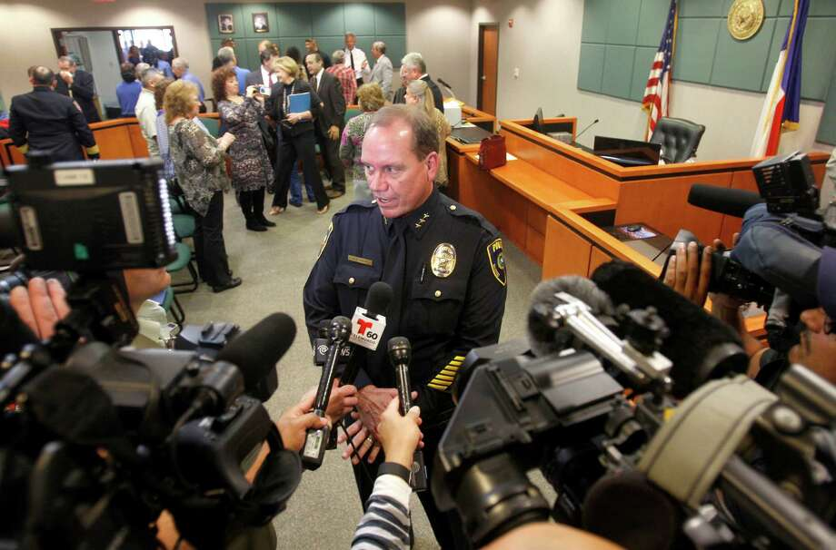 Balcones Heights police chief Darrell Volz has accepted a new job in Windcrest.  Photo: William Luther, Staff / San Antonio Express-News / © 2015 San Antonio Express-News