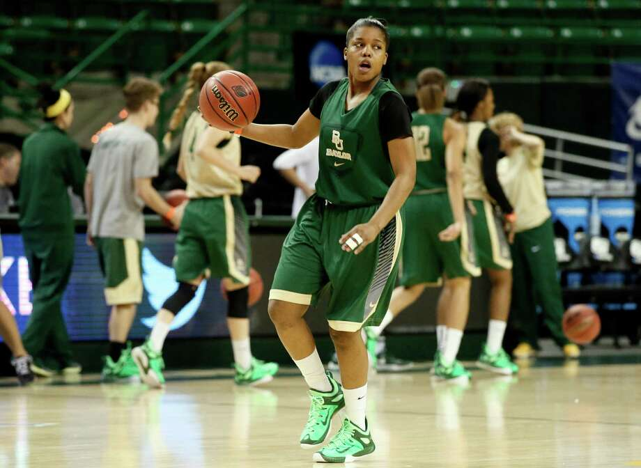 Baylor's Niya Johnson handles the ball during a practice for the first round of the NCAA women's tournament on March 19, 2015, in Waco. Baylor will play Northwestern State on Friday. Photo: Tony Gutierrez /Associated Press / AP