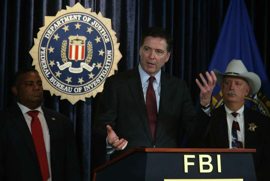 """Bad fads can be stamped out, and that's what we're trying to do,"" FBI Director James Comey tells a local law enforcement assembly Thursday in Houston. Photo: Mayra Beltran, Staff / © 2015 Houston Chronicle"