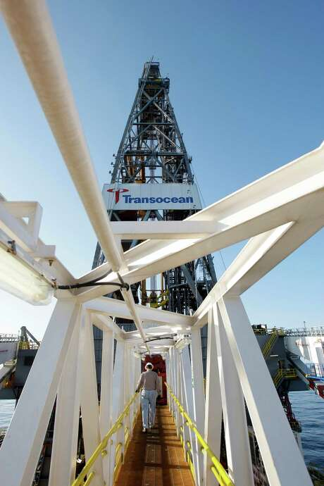 Transocean says it will scrap four of its offshore drilling rigs and put four more in storage.   Photo: Melissa Phillip, Staff / Houston Chronicle