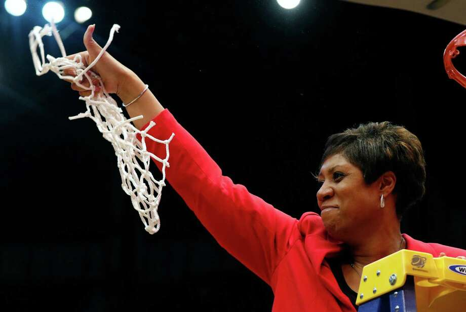 Coach Michelle Clark-Heard's Western Kentucky squad won the Conference USA tournament, setting up today's NCAA Tournament tilt with Texas. Photo: Butch Dill, FRE / FR111446 AP