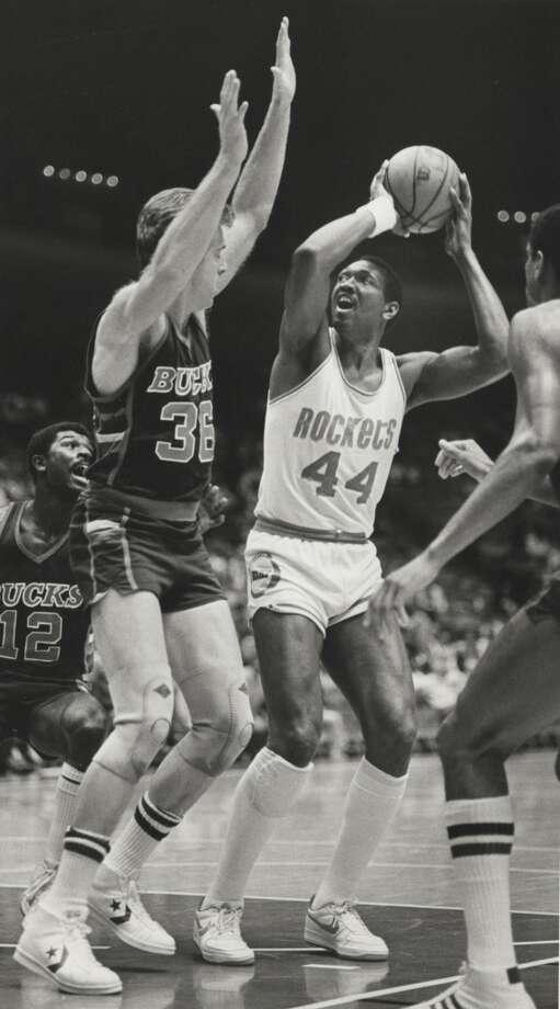 Elvin Hayes: 50 points November 20, 1970 Photo: Larry Reese, Houston Chronicle