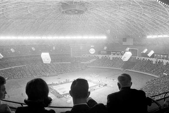 UH vs. UCLA, Jan. 20, 1968, inside the Astrodome.