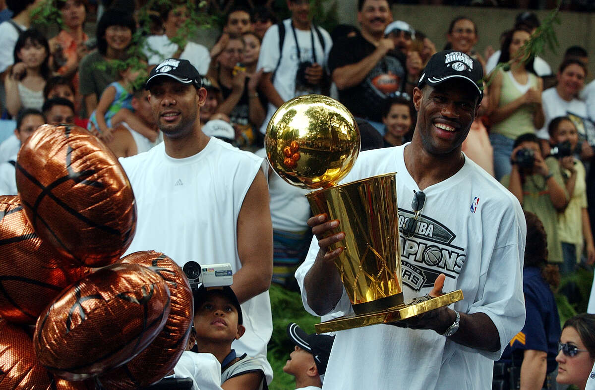 3. But The Admiral went out in style as the Spurs won their second NBA Championship in their first year doing the rodeo road trip.