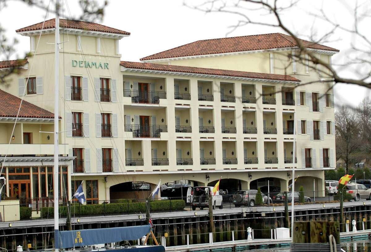 The Delamar Hotel, 500 Steamboat Road, is in the process of planning a rooftop pool area for guests.