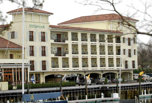 The Delamar Hotel, 500 Steamboat Road, is in the process of planning a rooftop pool area for guests. Photo: Bob Luckey, ST / Greenwich Time