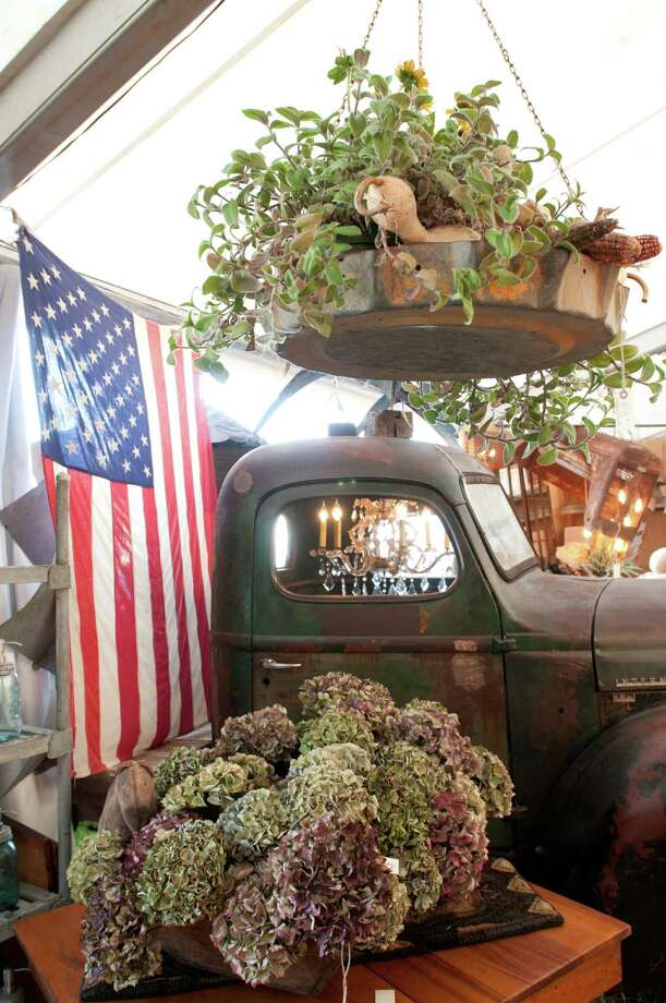 Marburger Farm Antique Show's 43-acre field hosts more than 350 dealers in 10 large  large tents and 12 historic buildings. Its spring show opens Tuesday and runs through April 4. Photo: Jenna Dee Detro / Images by studiodetro.com contact for their legal use.