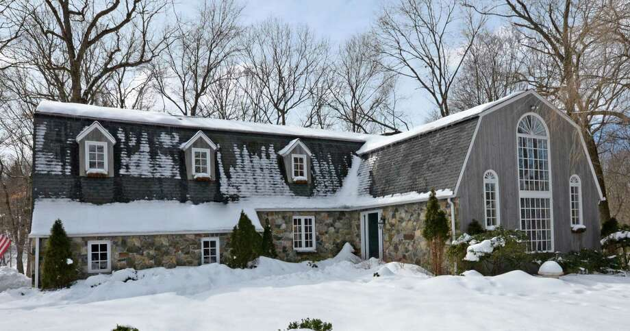 The property at 19 Clapboard Hill Road is on the market for $1,369,000. Photo: Contributed Photo / New Canaan News