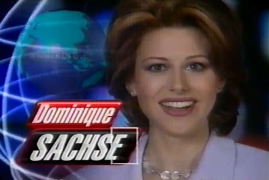 In the '90s we got our first glimpse of Dominique Sachse on KPRC-TV. Take a look at the birthday girl as she works hard and plays hard in Houston. Photo: File