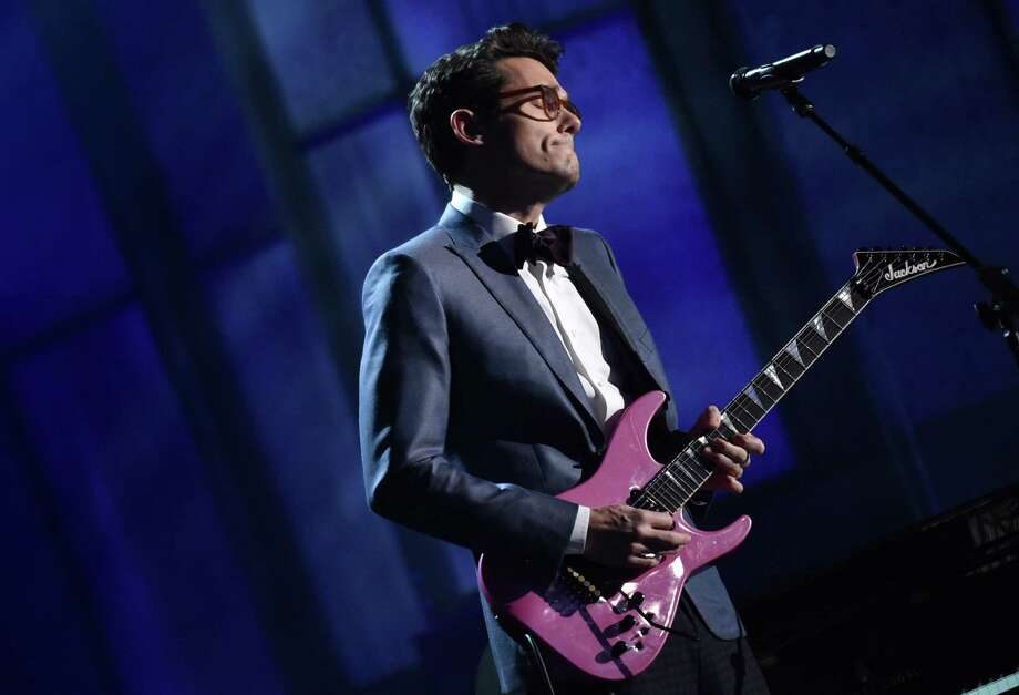 John Mayer performs at the 57th annual Grammy Awards on Sunday, Feb. 8, 2015, in Los Angeles. (Photo by John Shearer/Invision/AP) Photo: John Shearer, Associated Press / Invision