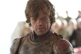 """In this undated image released by HBO, Peter Dinklage portrays Tyrion Lannister in a scene from """"Game of Thrones."""" (AP Photo/HBO, Paul Schiraldi Photography)"""