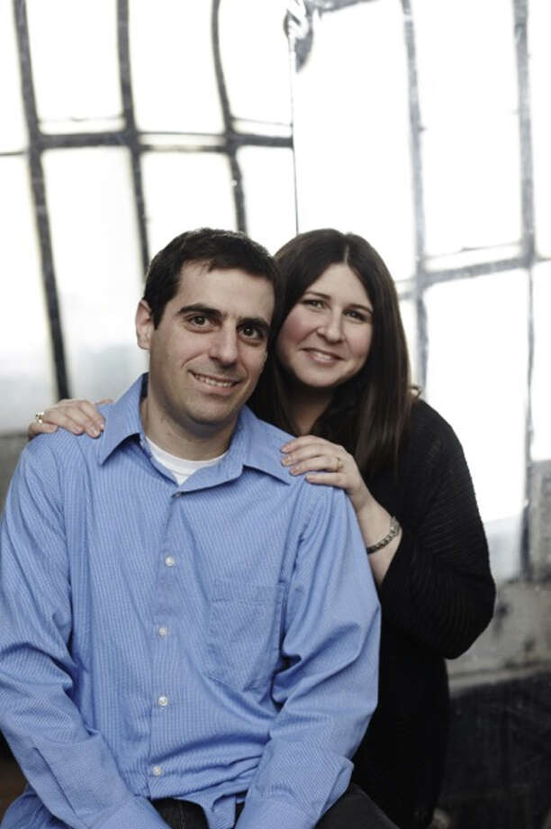 Eric Rubin Londin and Jessica Simon Goldenberg Photo: Contributed Photo, Nelson Oliveira / The News-Times