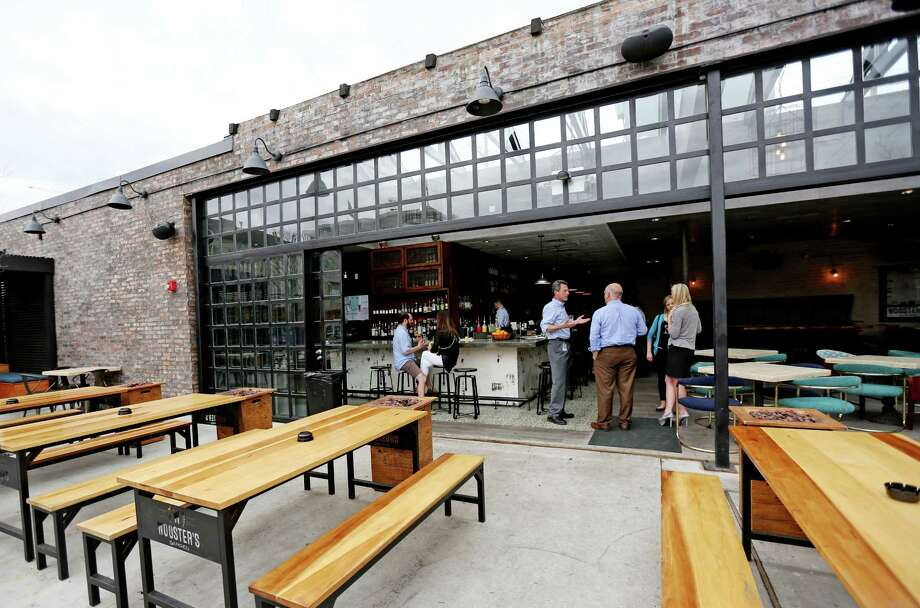 """Wooster's Garden features a sophisticated """"drinks garden."""" The Midtown bar is having its grand opening on Thursday. Photo: Gary Coronado, Staff / © 2015 Houston Chronicle"""