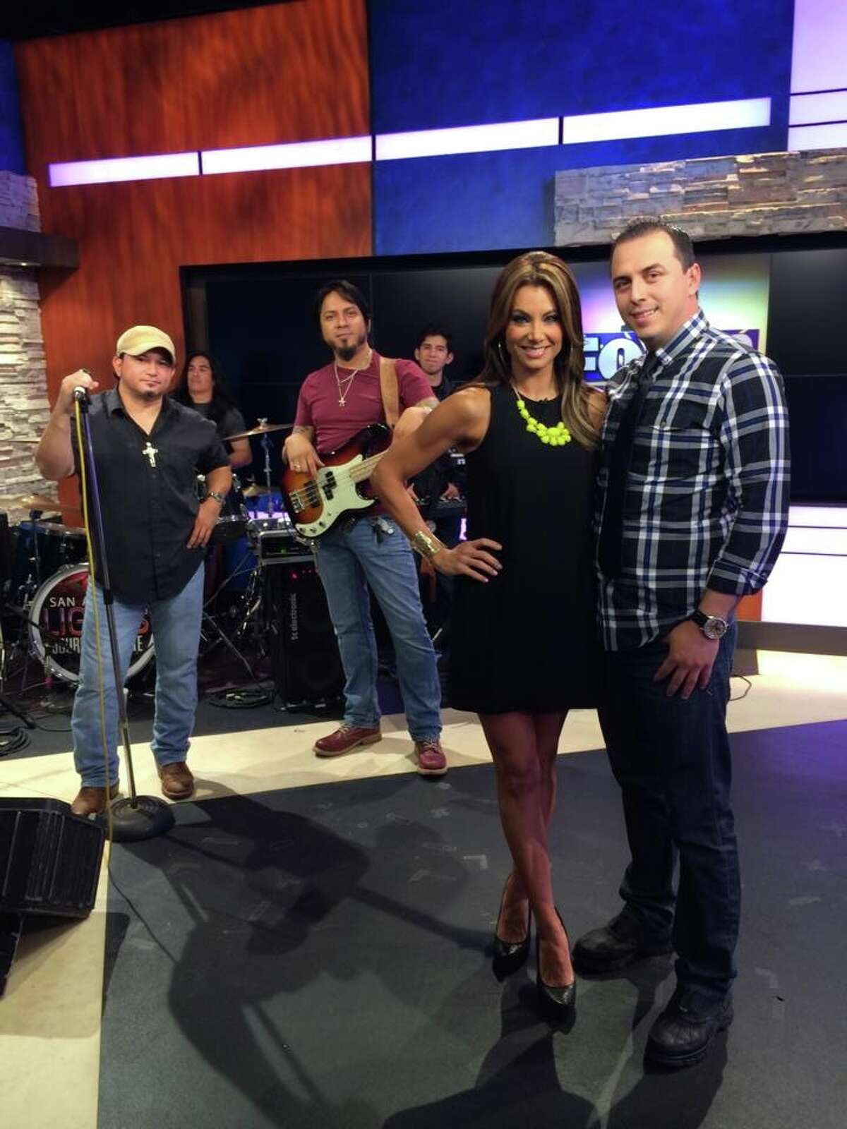 """KABB's """"Daytime with Kimberly and Esteban"""" have both drawn the interest of John Oliver on his weekly HBO show."""