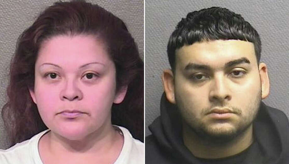 Melissa Martinez, 40, is charged with two counts of manufacturing/delivery of a controlled substance and one count of purchasing/furnishing alcohol to a minor in the 183rd State District Court. Her son, Eddie M. Herrera, 18, was previously arrested and charged with aggravated assault in the 183rd State District Court. He is accused for his role in the death of his girlfriend, Jacqueline Gomez, 17, of Houston. Photo: Houston Police