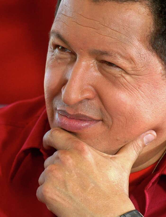 Venezuela's slide into anarchy began during the rule of President Hugo Chavez. As with the current leadership, he pointed the finger at the United States. Photo: MARCELO GARCIA /AFP /Getty Images / AFP