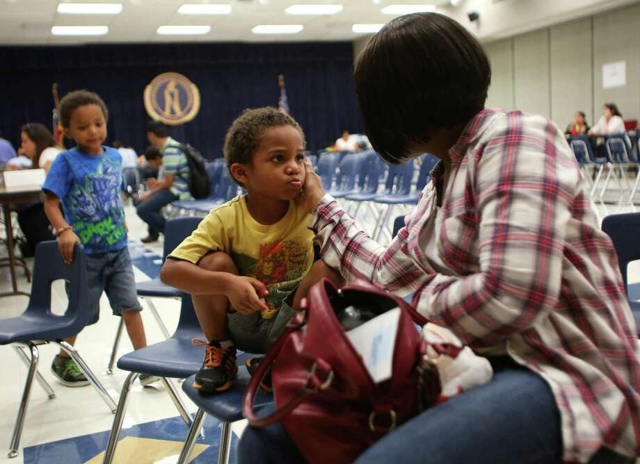 All Texas school children deserve an opportunity for early childhood education, but legislation filed to expand the state's pre-K funding is woefully inadequate. Photo: Timothy Tai /San Antonio Express-News / © 2014 San Antonio Express-News