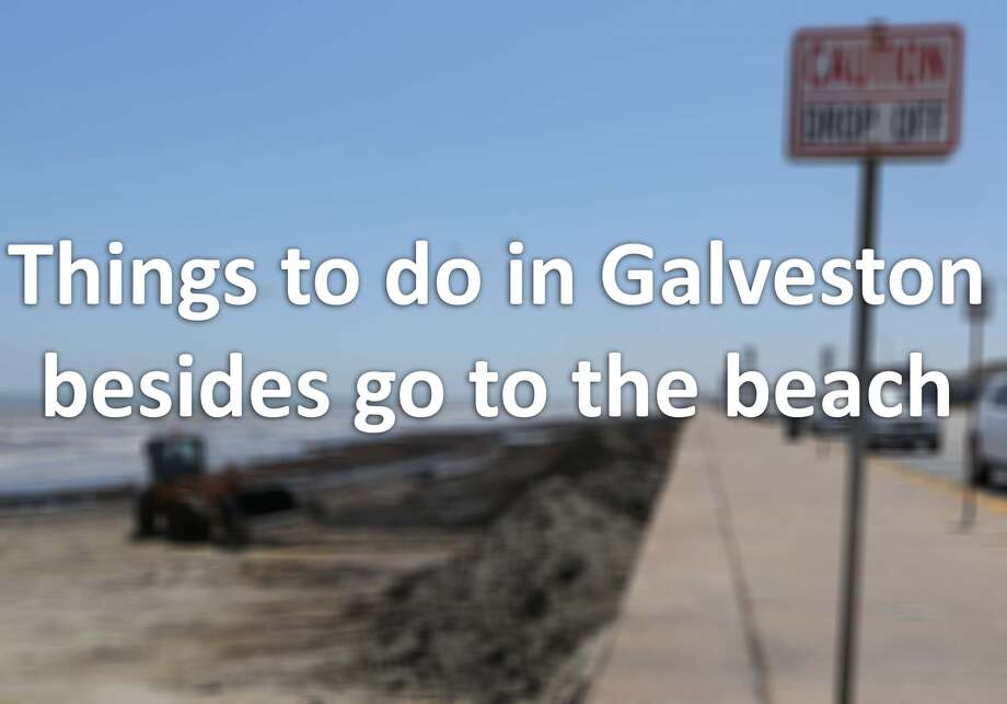 There are plenty of ways to take advantage of the nice weather in Galveston that don't include playing in the surf.