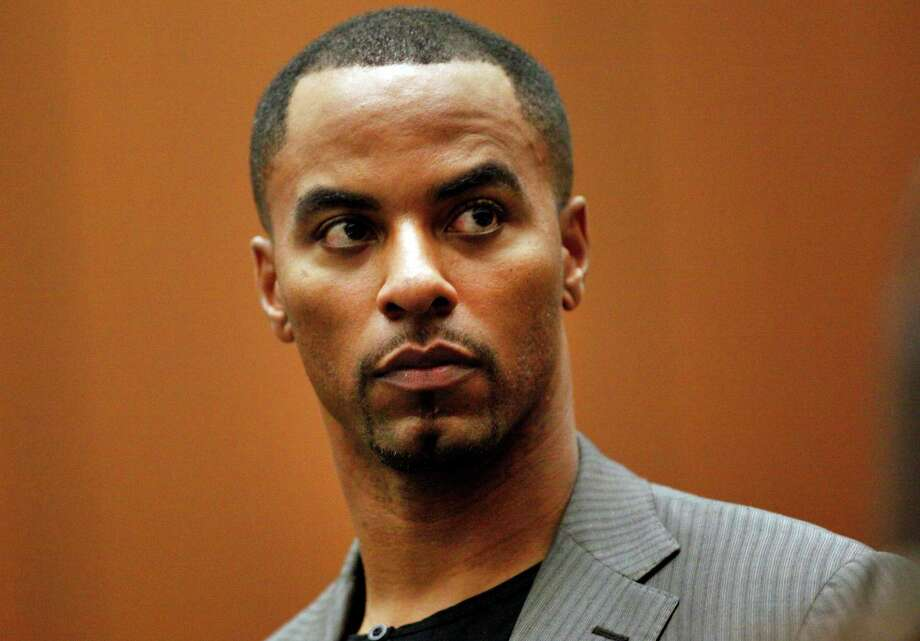 FILE - In this Feb. 20, 2014, file photo, former NFL safety Darren Sharper appears in Los Angeles Superior Court in Los Angeles. Rape charges have been filed on Friday, March 20, 2015 in Las Vegas against former NFL safety Darren Sharper, who already faces sexual assault charges in Los Angeles, New Orleans and the Phoenix area. (AP Photo/Los Angeles Times, Bob Chamberlin, Pool) Photo: Bob Chamberlin, POOL / POOL Los Angeles Times